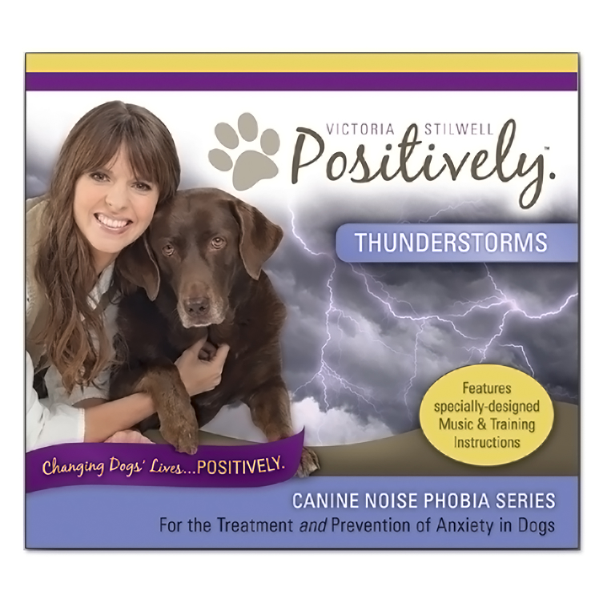 Canine Noise Phobia Series - Thunderstorms CD