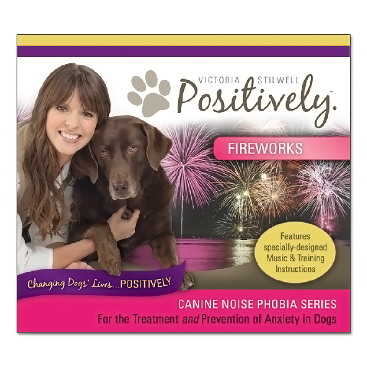 Canine Noise Phobia Series - Fireworks CD