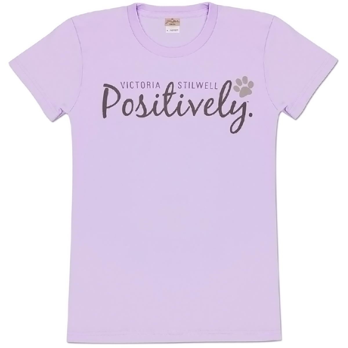 Positively Ladies T-Shirt - Orchid
