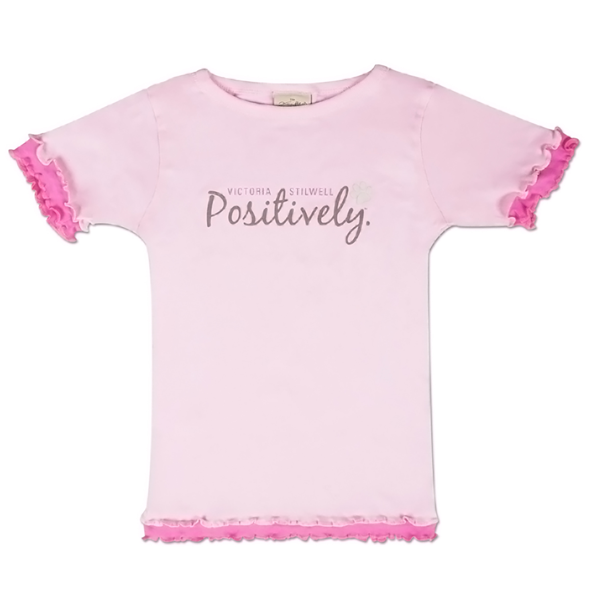 Positively Youth Girls Ruffle T-Shirt