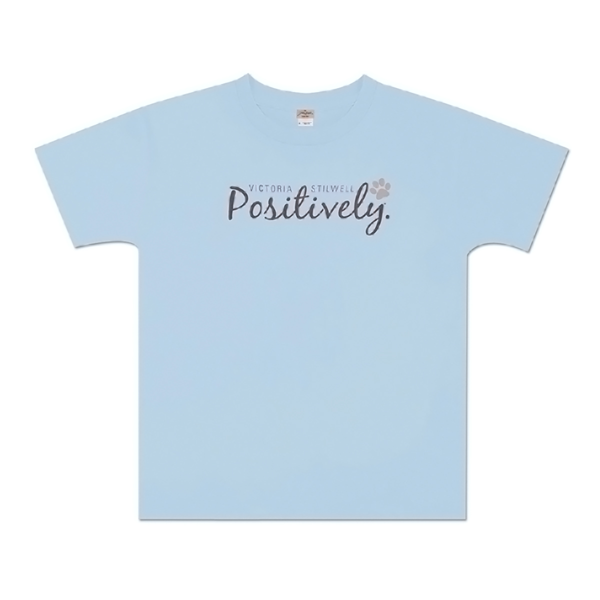 Positively Youth T-Shirt - Light Blue