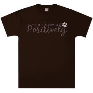 Positively Unisex T-Shirt - Dark Chocolate