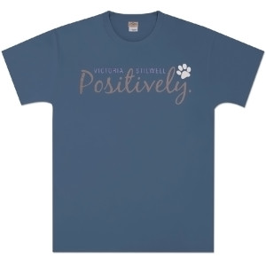 Positively Unisex T-Shirt - Indigo