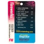 iCalmDog Fireworks Micro Card (Canine Noise Phobia Series)