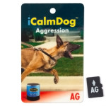iCalmDog Aggression Micro Card