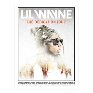 Dedication Tour Litho