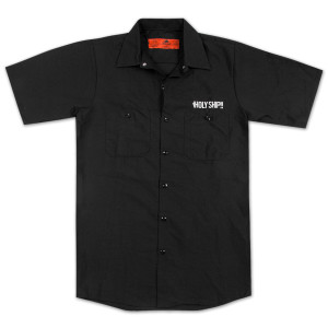 Men's Holy Ship!! Short-sleeve Work Shirt