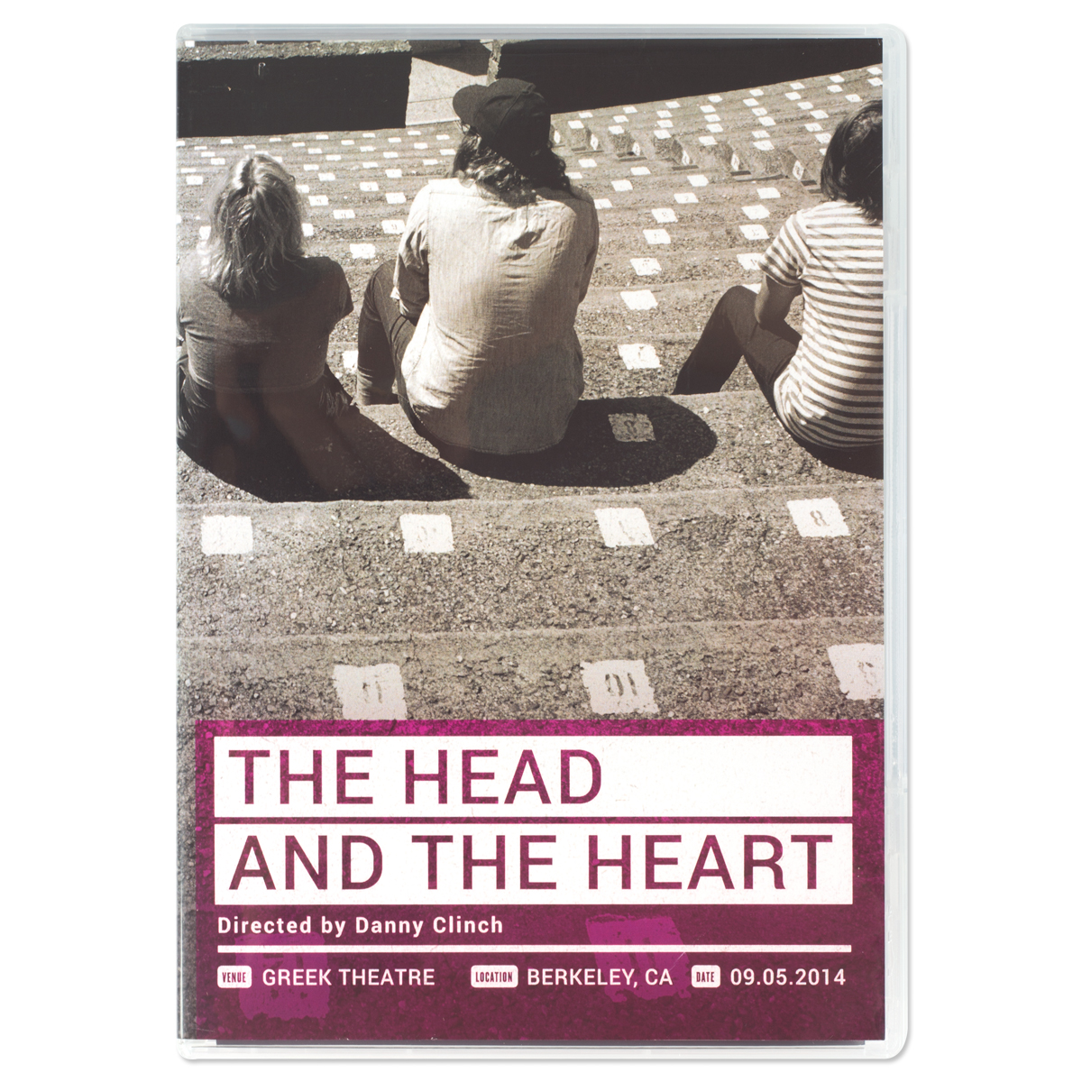 The Head and the Heart Live at the Greek Theatre Blu-Ray