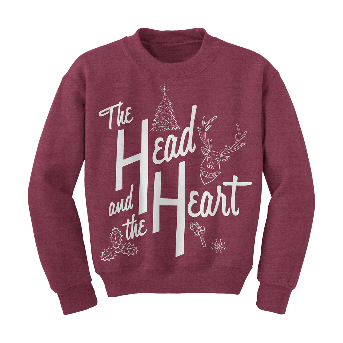 The Head and the Heart Holiday Sweater