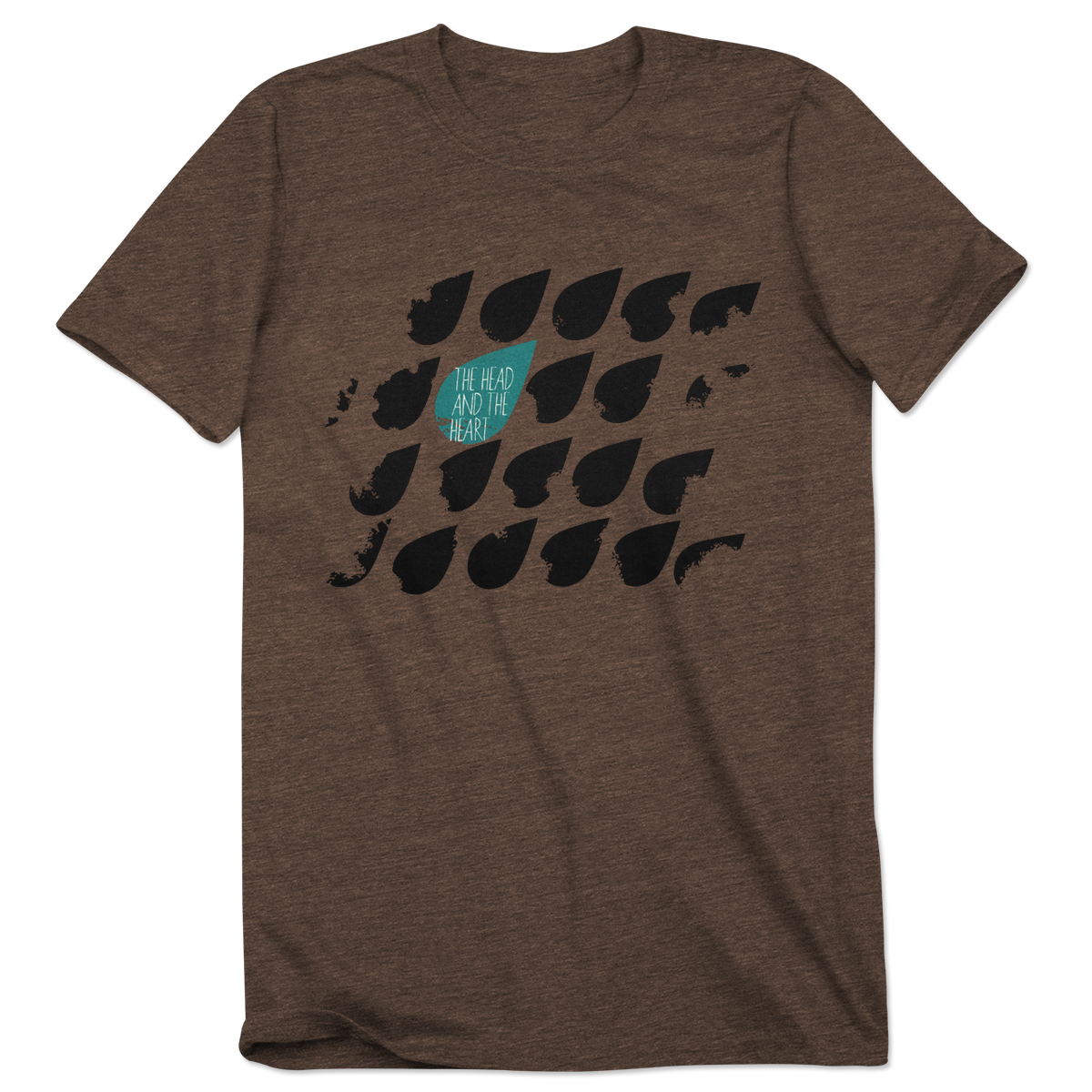 The Head and The Heart Raindrop Men's T-Shirt