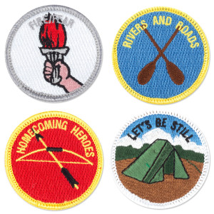 The Head and The Heart Merit Badge Set