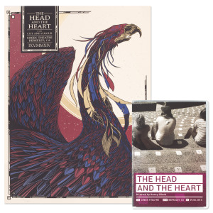 The Head and the Heart Live at the Greek Theatre Blu-Ray + Poster Combo