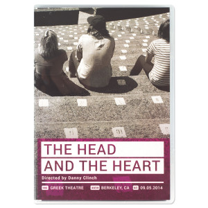 The Head and the Heart Live at the Greek Theatre DVD