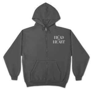 The Head and the Heart American Apparel Zip Up Sweatshirt