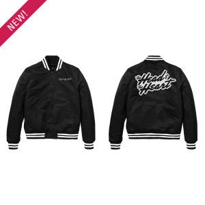 Signs of Light Crew Satin Jacket