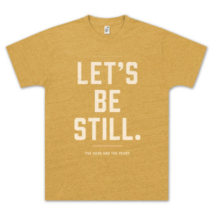 The Head and The Heart Let's Be Still Heather Gold T-Shirt