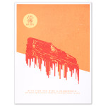 THATH Limited Edition Red Rocks Poster