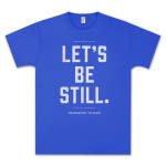 The Head and The Heart Let's Be Still Blue T-Shirt
