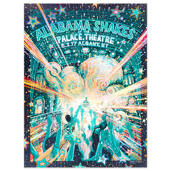 Alabama Shakes Show Poser - Palace Theatre, Albany, NY 8/1/17