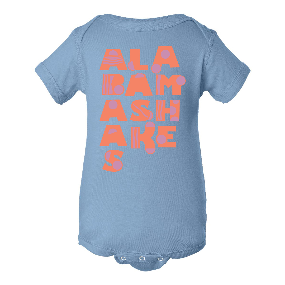 Alabama Shakes Bubble Onesie