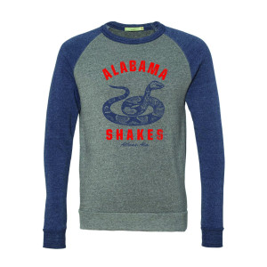 Alabama Shakes Snake Colorblock Sweatshirt