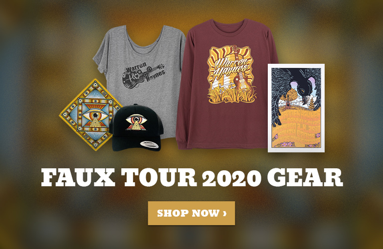 Warren Haynes 2020 Faux Tour Gear