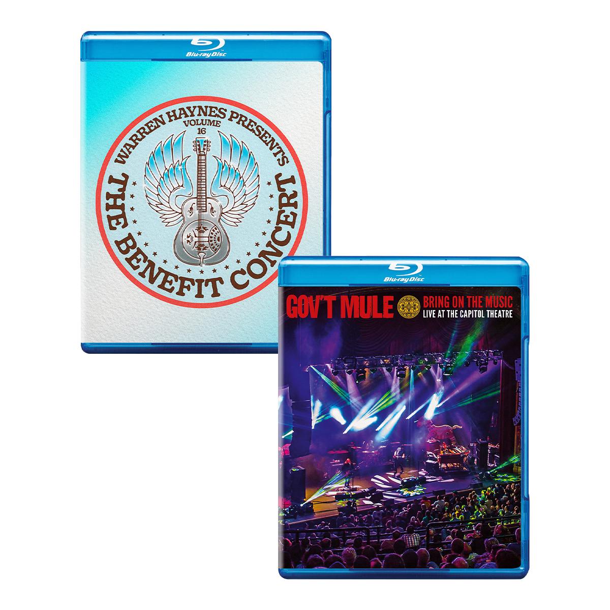 Blu-Ray Bundle:  Benefit Concert Vol 16 & BOTM