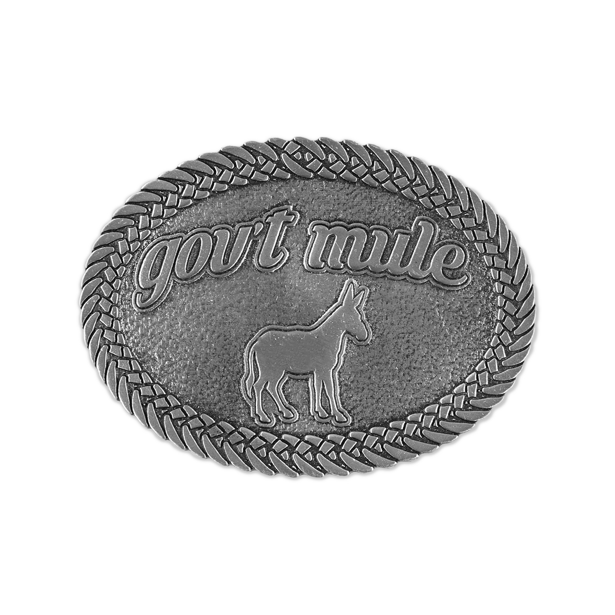 Gov't Mule Belt Buckle
