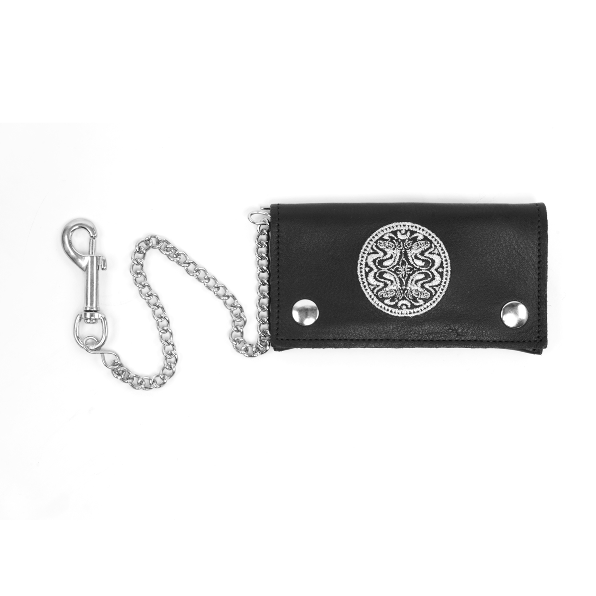 Dose Leather Wallet Chain