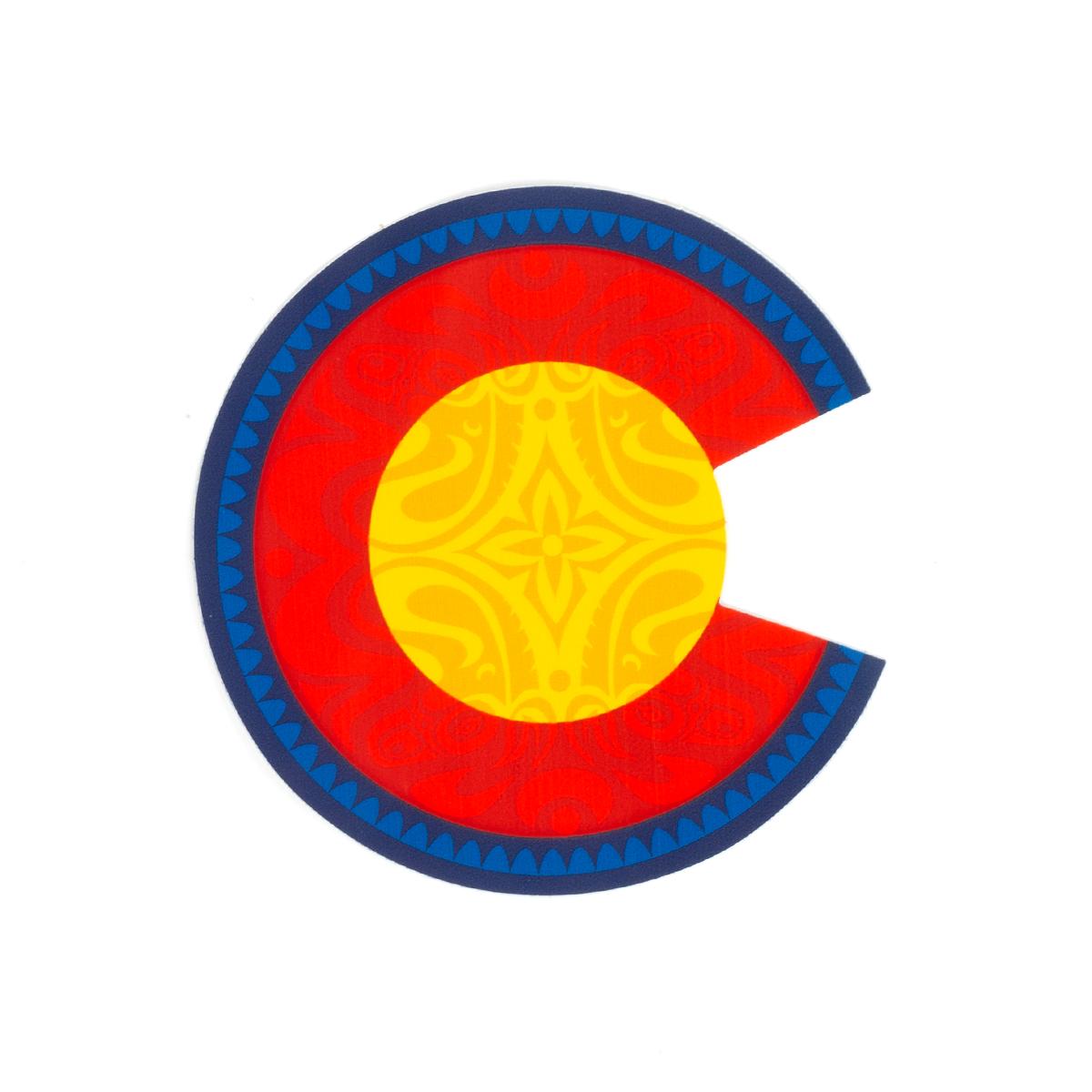 Colorado Dose Sticker