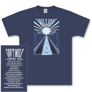 Gov't Mule 2007 Spring Tour T-Shirt