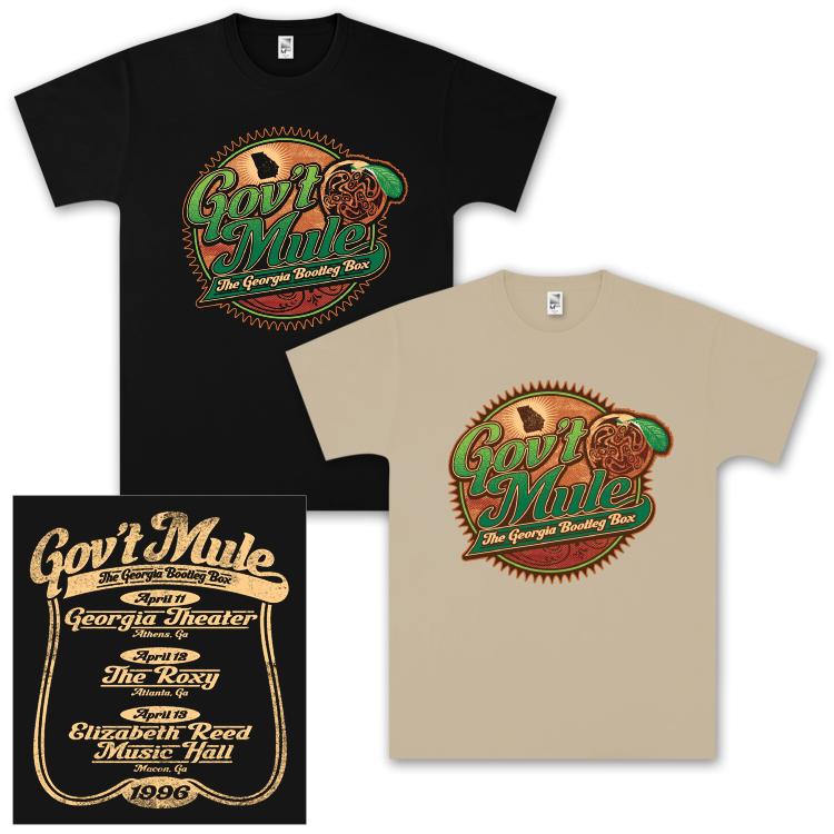 Gov't Mule Georgia Bootleg Box Set T-Shirt