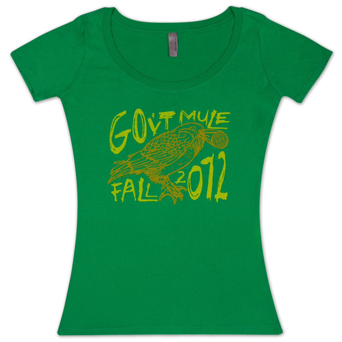 Gov't Mule Ladies Fall 2012 Bird logo T-Shirt