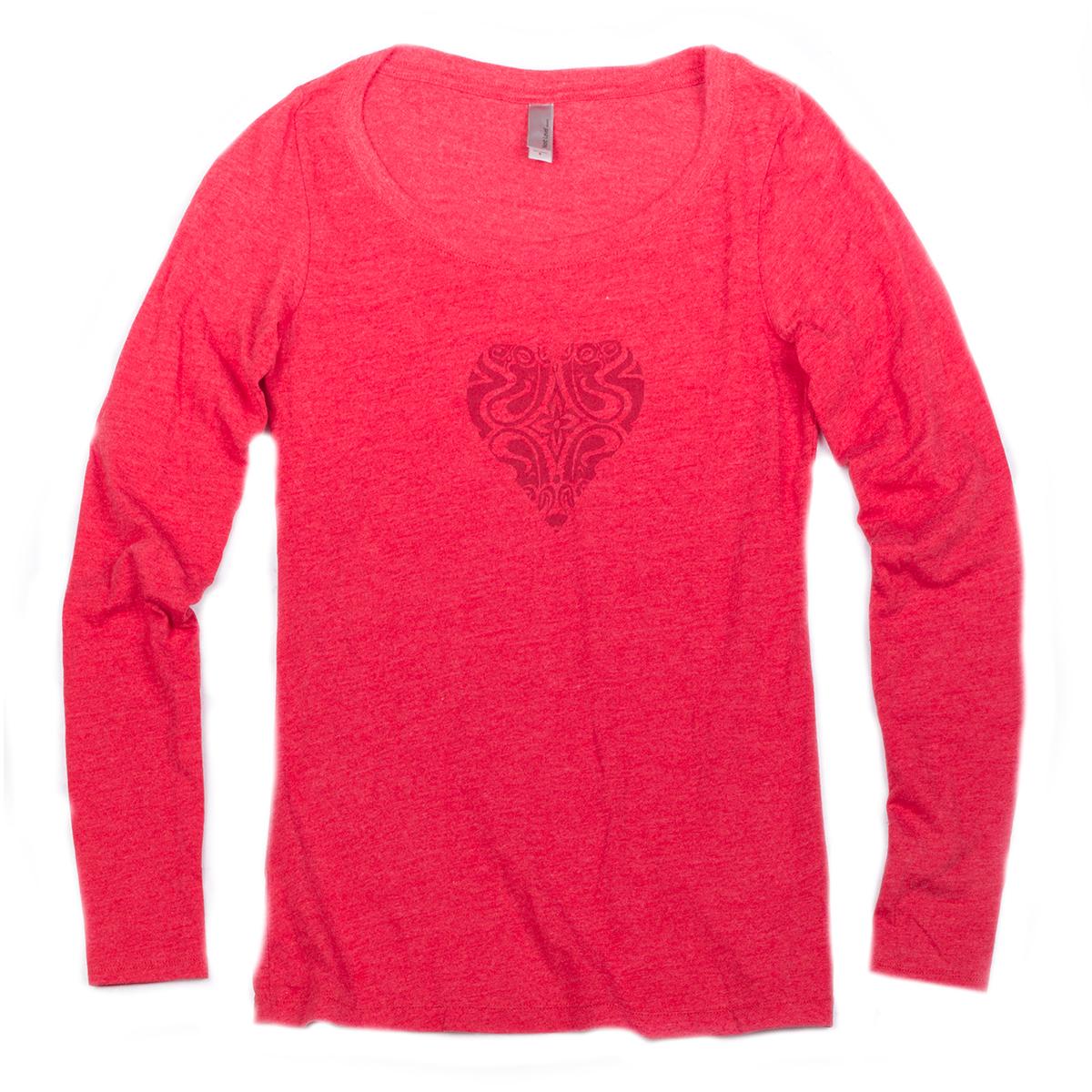 Women's Longsleeve Heart Dose
