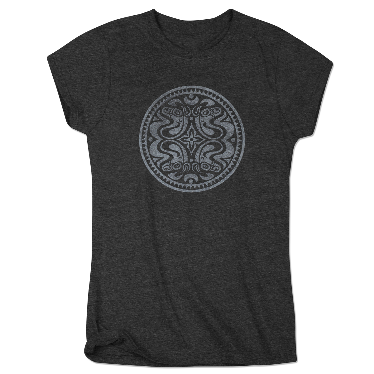 Gov't Mule Women's Dose Logo T-Shirt on Charcoal