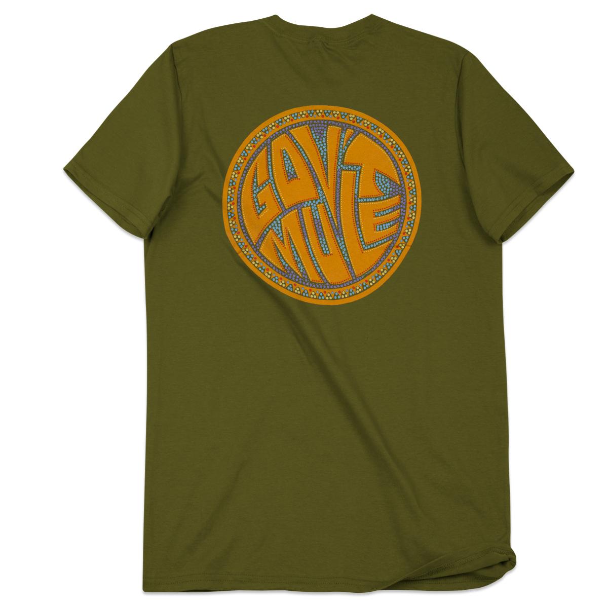 Green Beaded Dose Logo T-Shirt