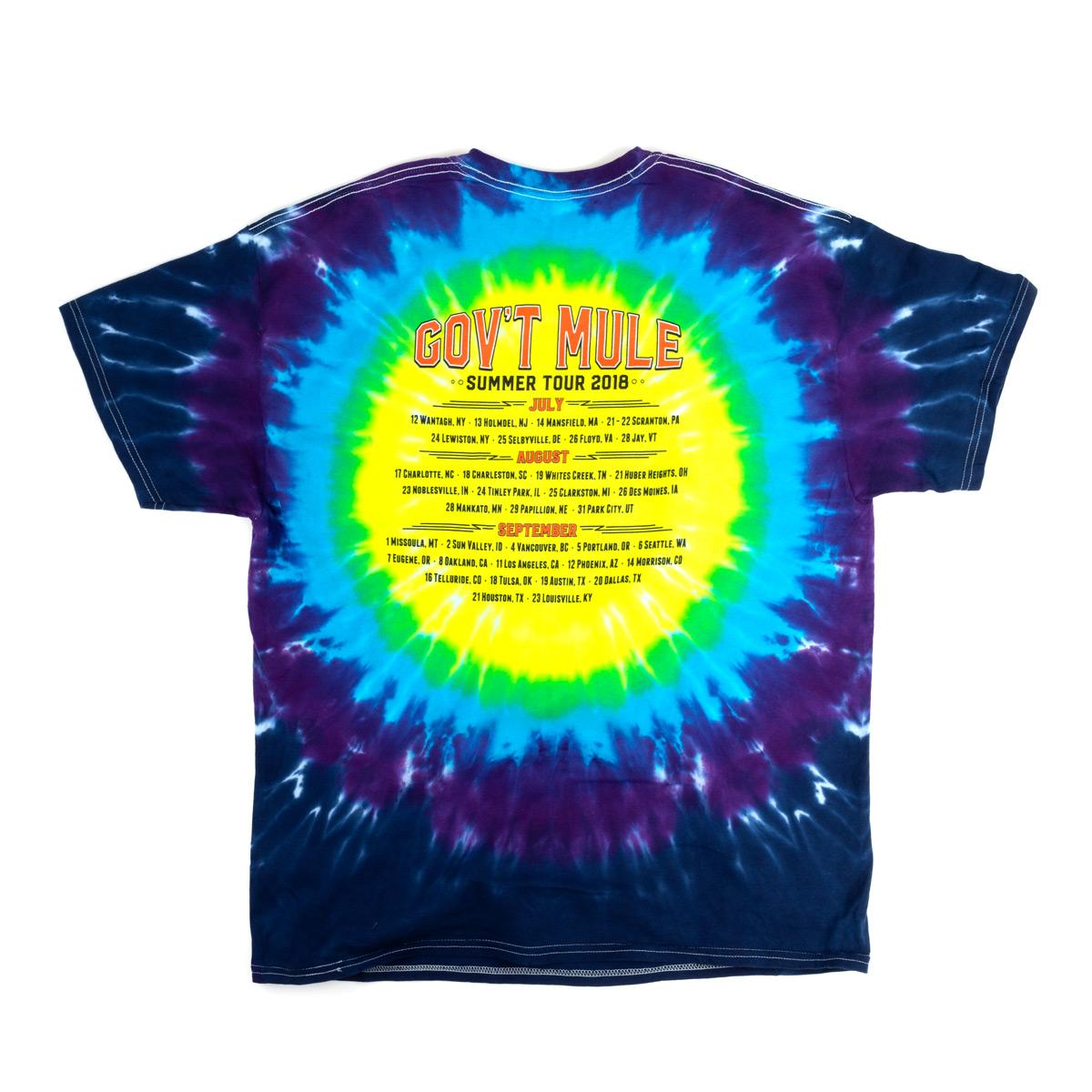 2018 Summer Tour Tie-Dye