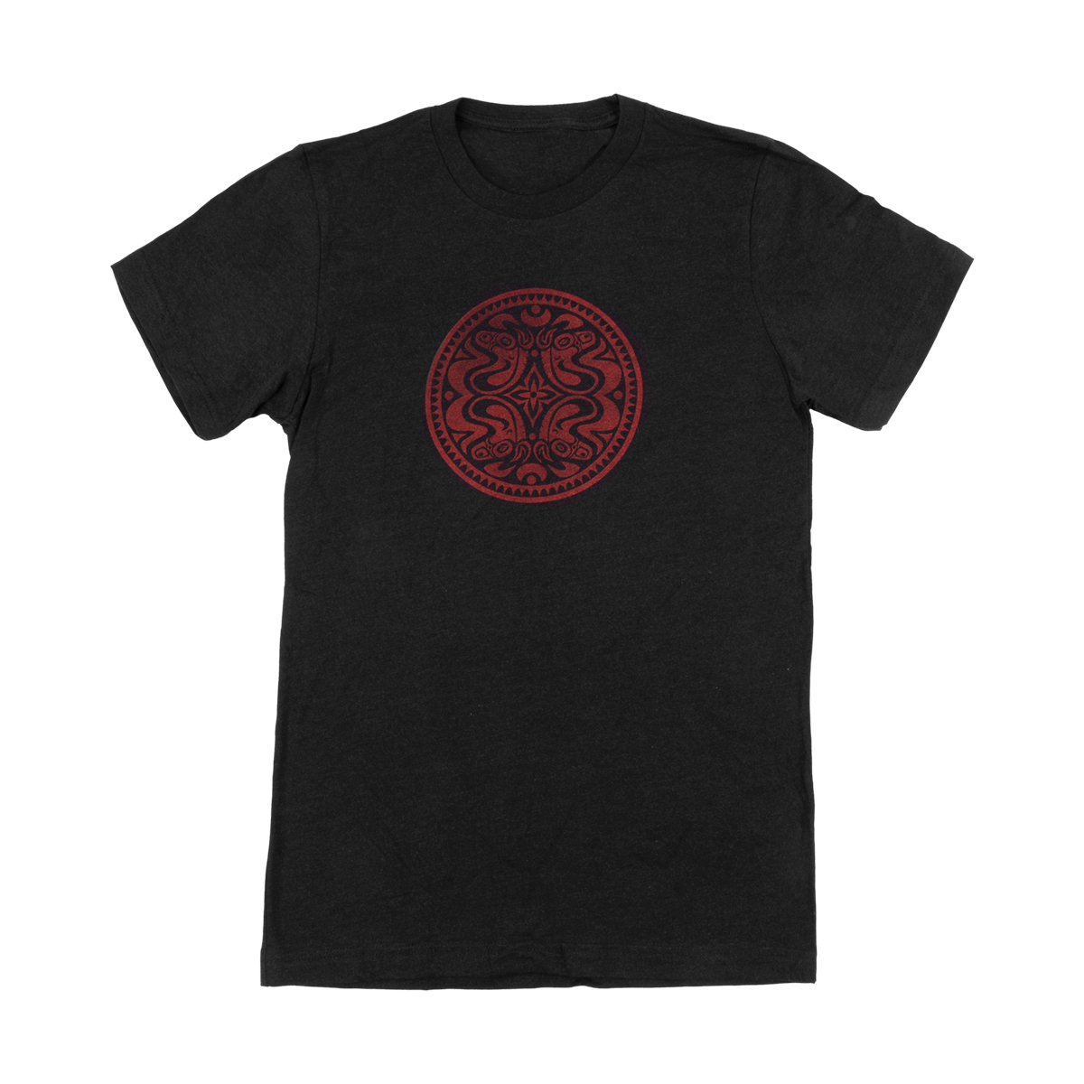 Heather Black Quattro Dose T-Shirt