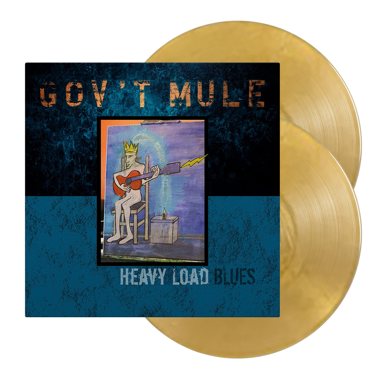 Gov't Mule Heavy Load Blues Gold Vinyl
