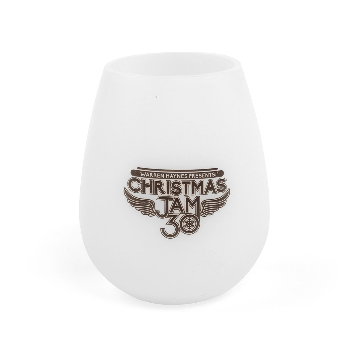 2018 Christmas Jam Squishy Silicone Wine Glass