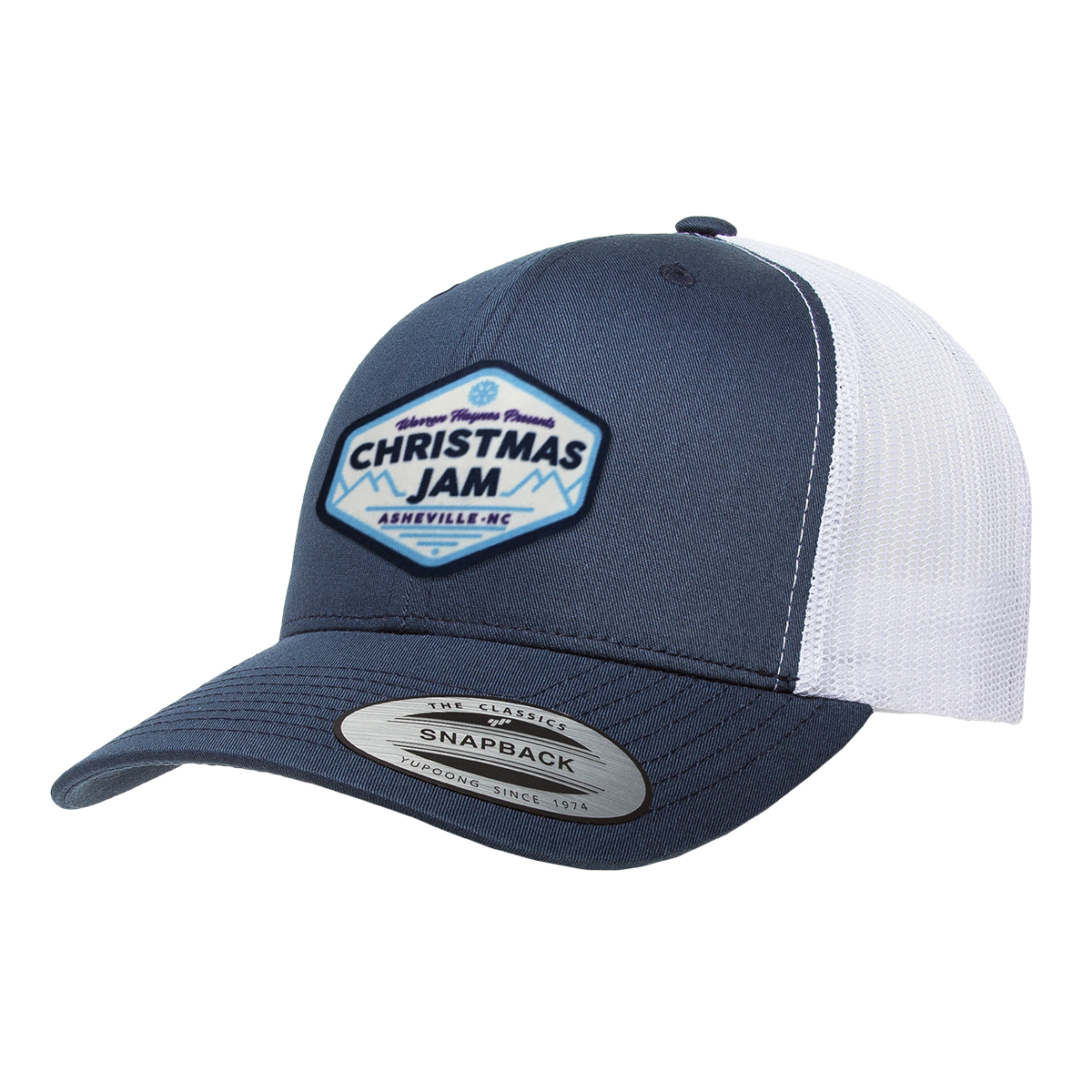 Warren Haynes 2017 Christmas Jam Trucker Hat <b>**Exclusive**</b>
