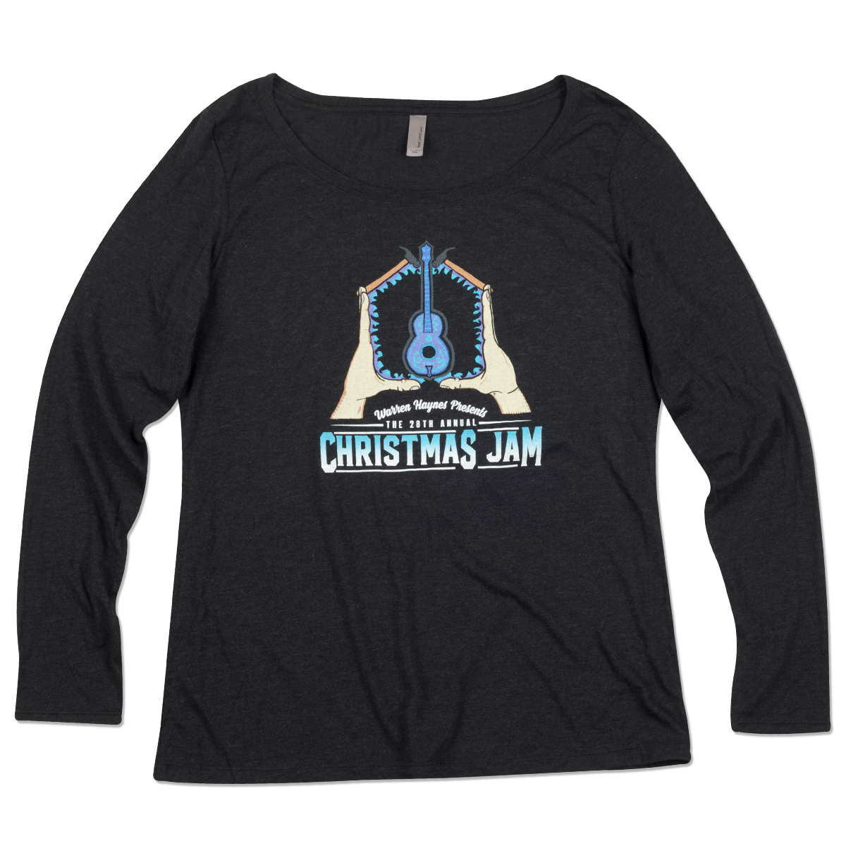 Warren Haynes 2016 Christmas Jam Women's Long Sleeve T-Shirt