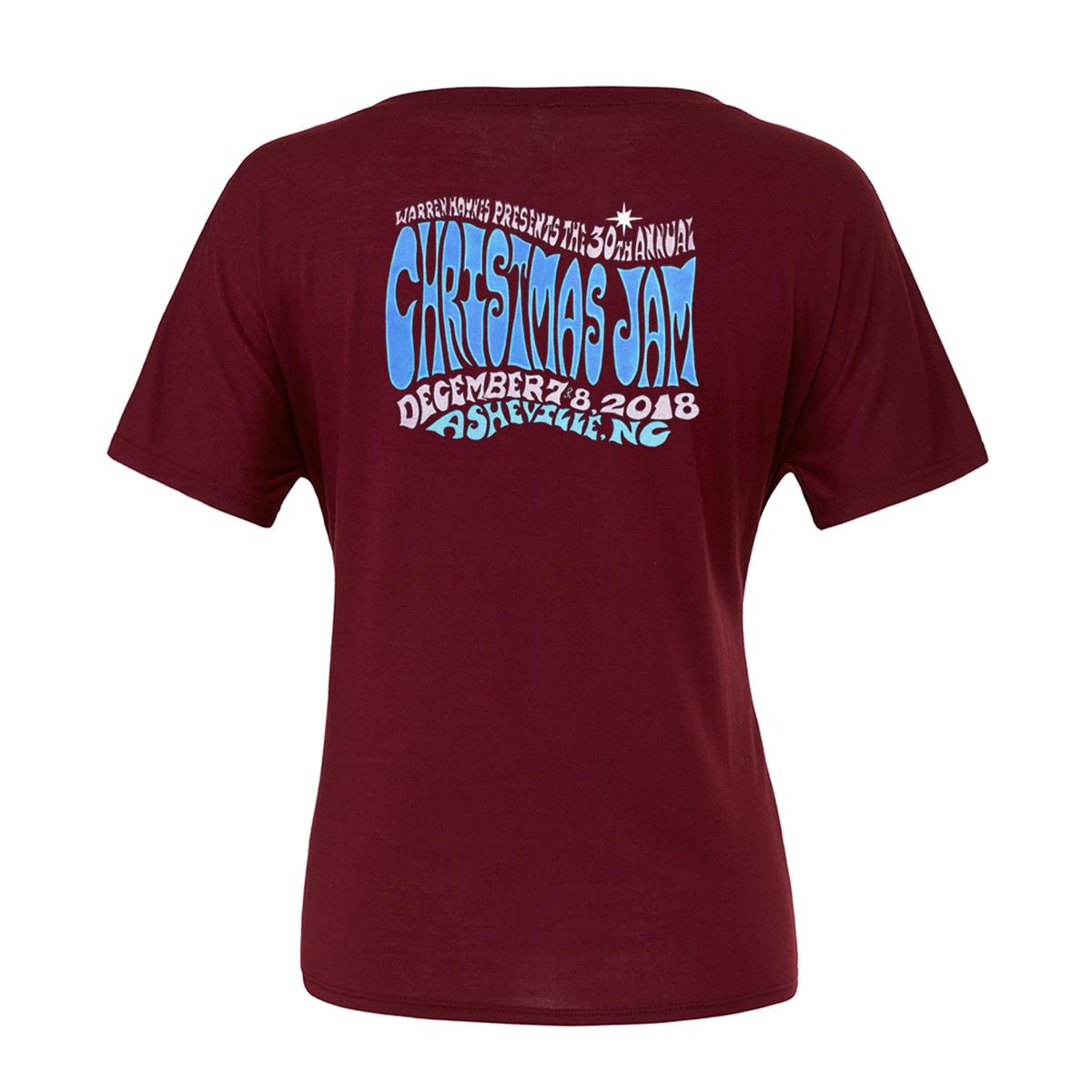 2018 Christmas Jam Women's Snowflake T-Shirt