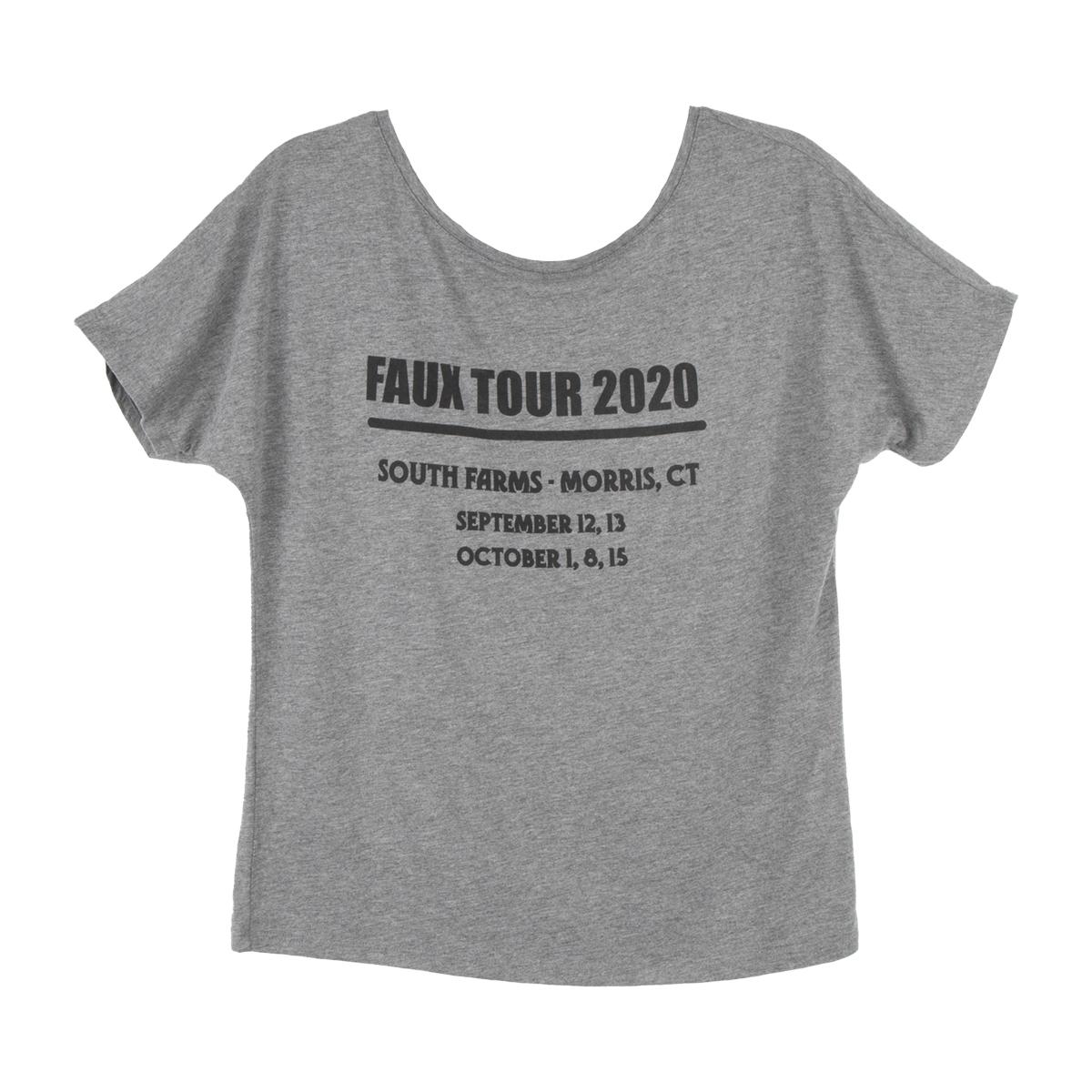 Faux Tour 2020 Ladies T-Shirt