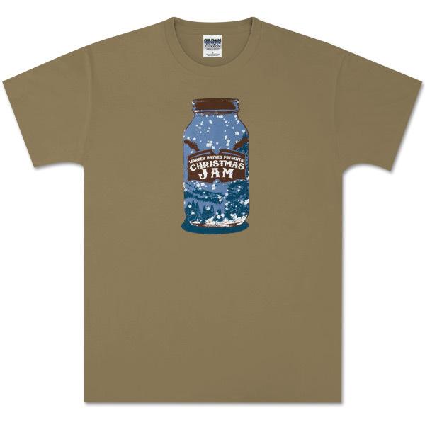Warren Haynes Xmas Jam 2009 Jar Logo T-Shirt