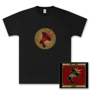Gov't Mule Shout! CD and T-Shirt Bundle