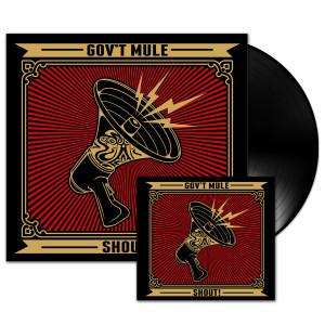 Gov't Mule Shout! Vinyl LP and Digital Download Bundle