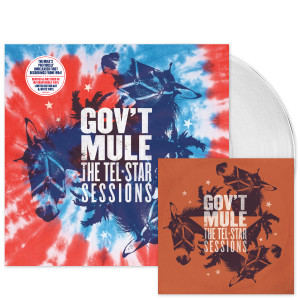 Gov't Mule - The Tel-Star Sessions Limited-Edition Vinyl LP & CD Bundle