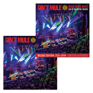 2-CD/2-DVD Deluxe + 2-CD Standard Editions Bundle: Bring On The Music / Live at The Capitol Theatre