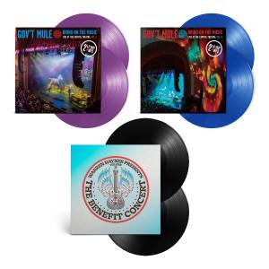 Vinyl Bundle:  BOTM Vol. 1 and 2 & Benefit Concert